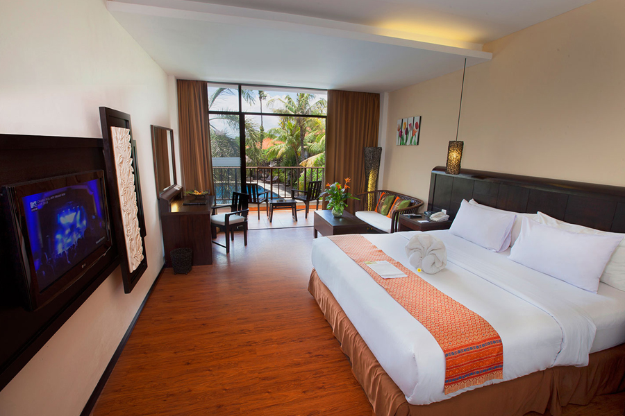 Best Western Resort Kuta Deluxe Room
